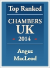 Top Ranked Chambers UK 2014 - Angus McLeod